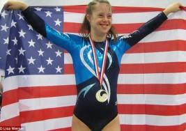 La gimnasta con síndrome de Down a la que rechazaron varios equipos cuando tenía 12 años y consiguió ganar dos Mundiales