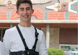 Mexicano de 16 años guiará a los ciegos con su invento en Silicon Valley