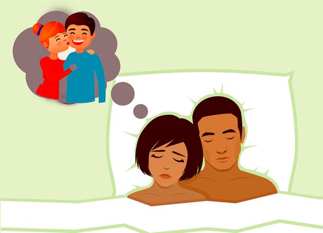 ¿Qué es lo que en REALIDAD significa soñar con que tu pareja te es infiel?