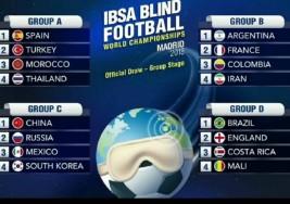 Así será el Mundial de fútbol para ciegos