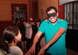 Teatro para ciegos en la Unidad Académica de Artes