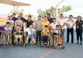 Deportistas con parálisis cerebral van a nacionales