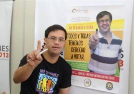 Garantiza INE voto libre y secreto para personas con discapacidad