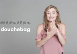 12 fotografías para aprender a insultar en lenguaje de señas