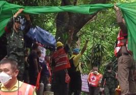 Rescate de los últimos niños atrapados en la cueva de Tailandia, en directo