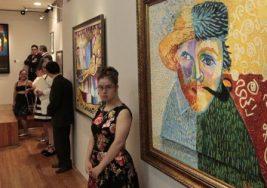 Artistas con Síndrome de Down exhiben obras en Bellas Artes