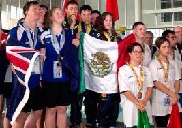 Nadadores mexicanos triunfan en el Mundial de Natación con Síndrome de Down