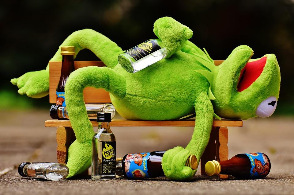 Ranita enbriagada