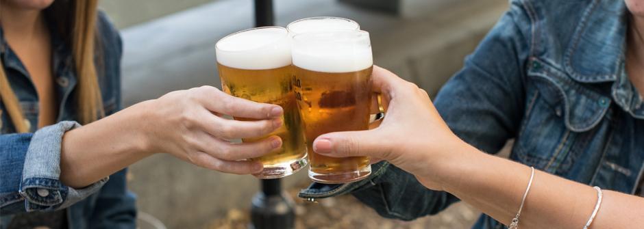 Cerveza entre amigas