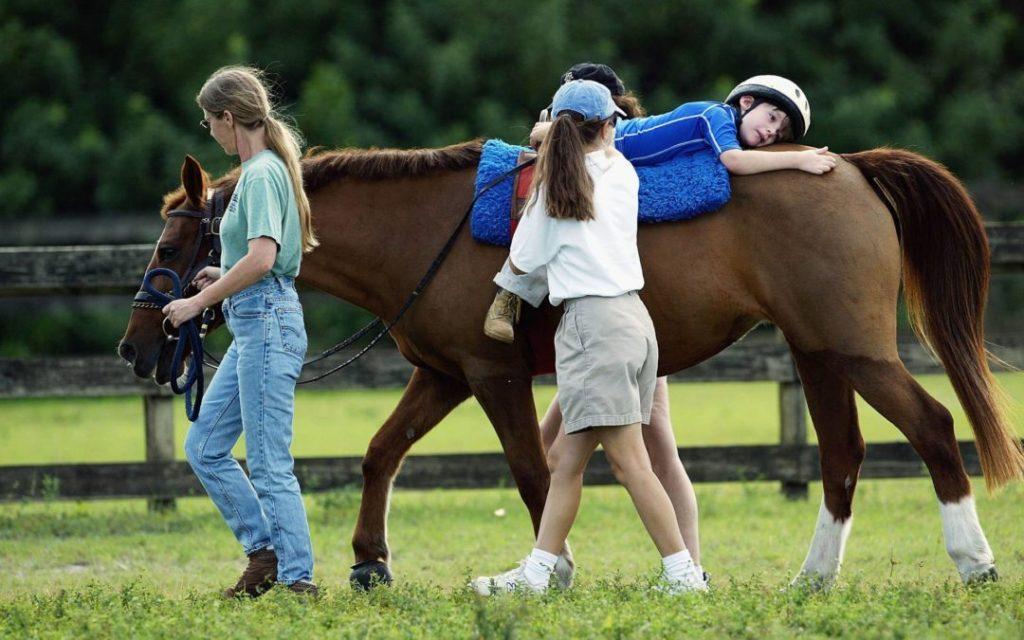 Recibirán niños con autismo equinoterapia