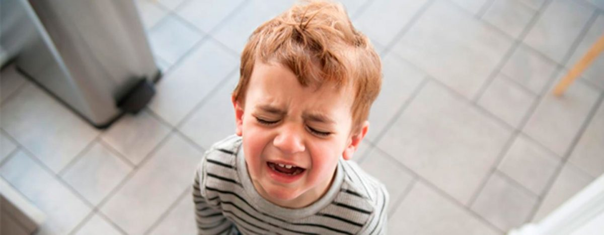 Niño llorando