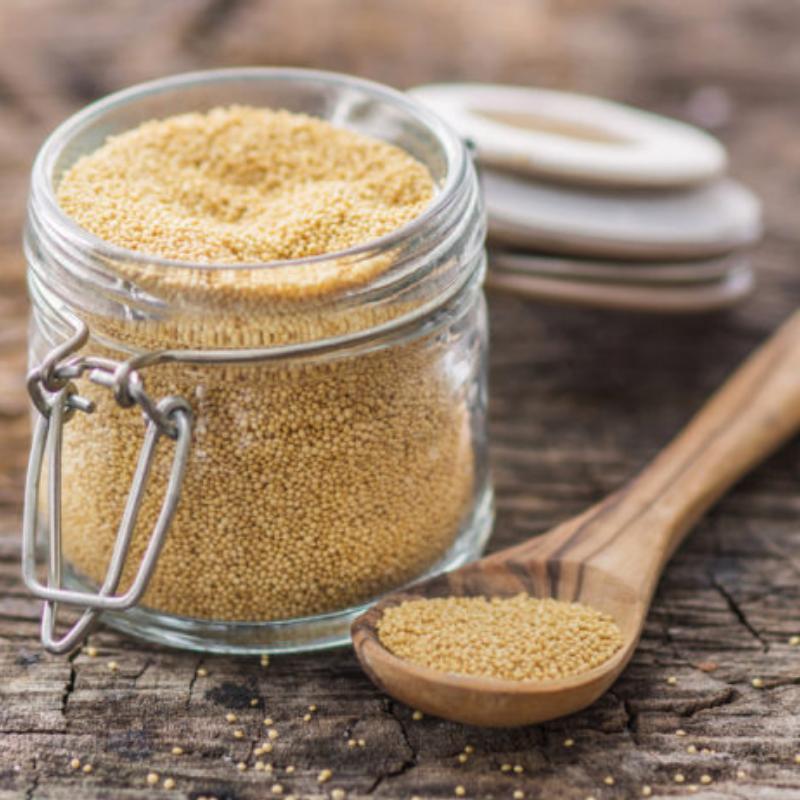 Cápsulas de amaranto, una opción natural y accesible para combatir la depresión