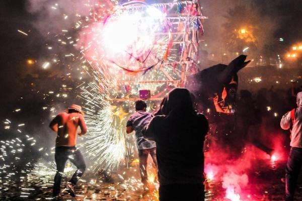 Advierten multas en CDMX por quema de pirotecnia en Año Nuevo