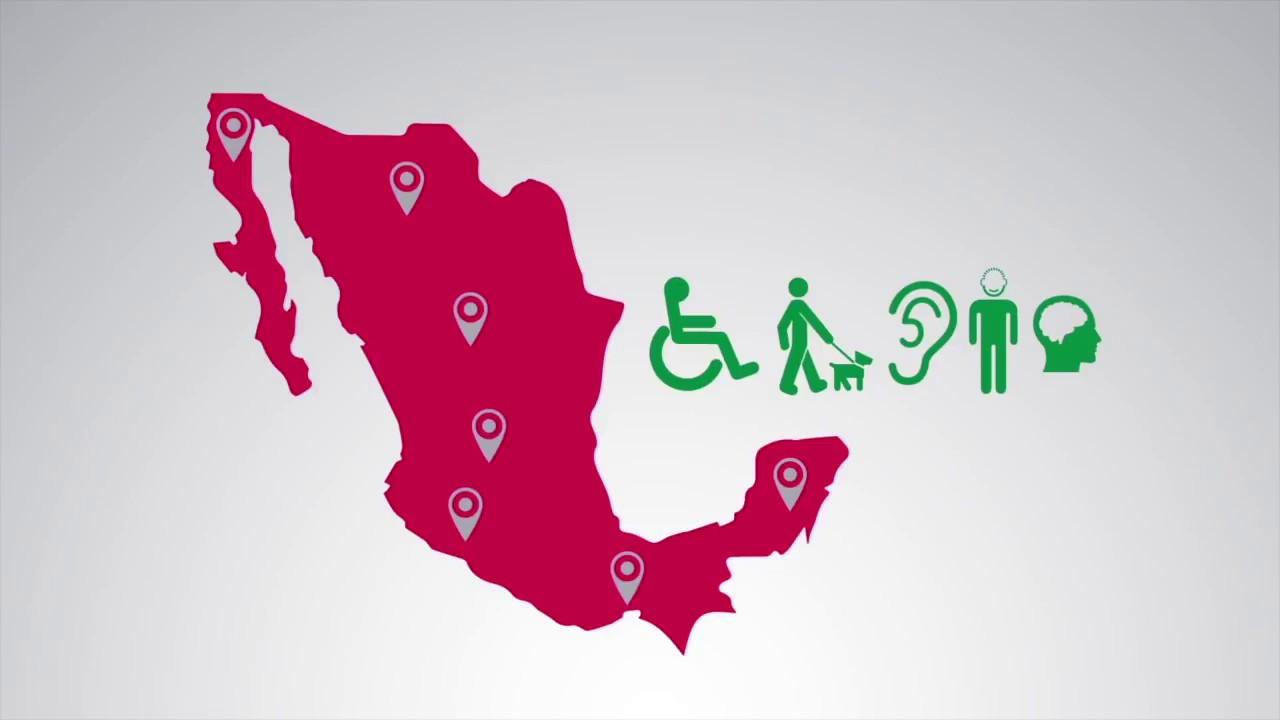 ¿Cómo se incluye a las personas con discapacidad en México?