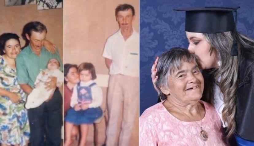 Nadie creía que su mamá con síndrome de Down podría criarla bien y ella se tituló para enorgullecerla