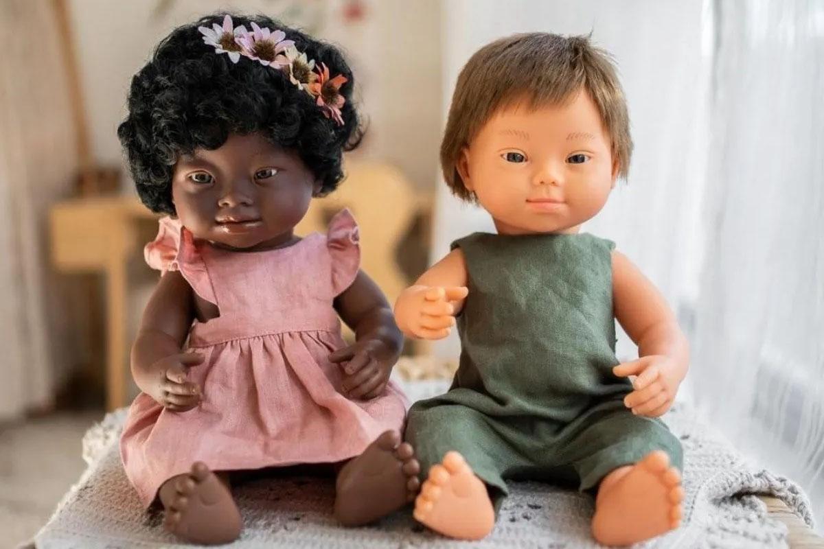 Las muñecas con Síndrome de Down 'made in Spain' que conquistan a niños de todo el mundo