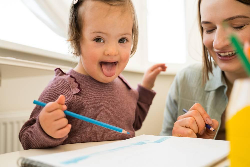 Estimulación temprana en síndrome de Down, ¿cómo ayudarlos en casa?