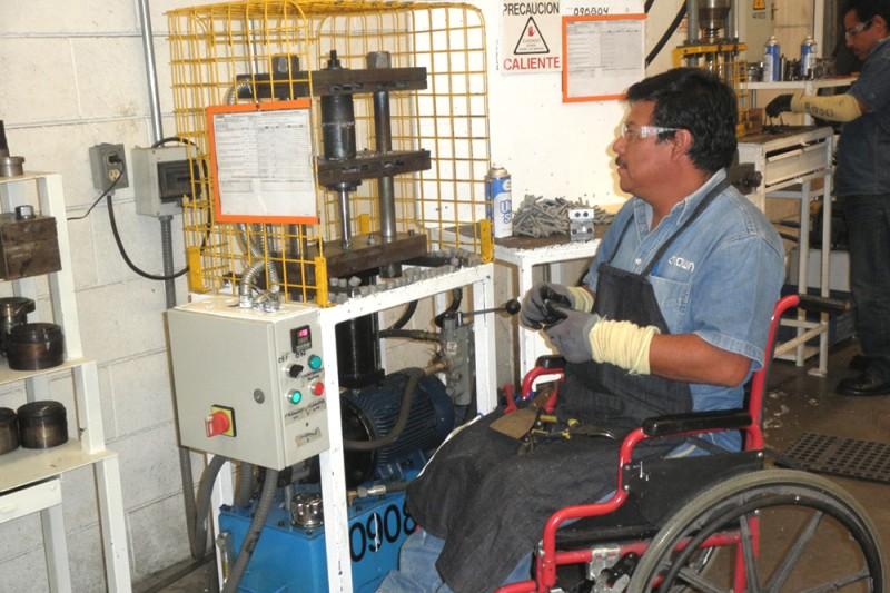 Estímulo por contratar personas con discapacidad